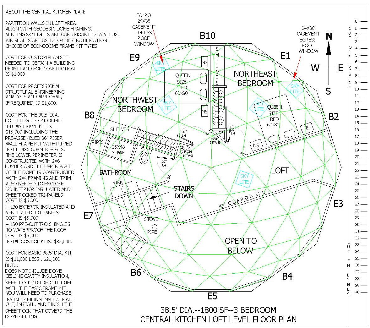 Dome Home Kits And Plans: Dome Home Floorplans