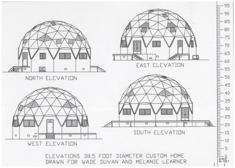Custom Geodesic Dome Kits And Round Home Kits Designed And Manufactured By Faze Change Produx