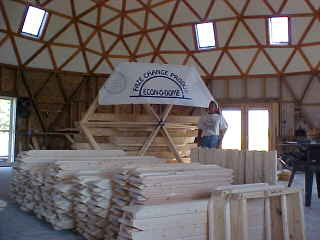 dome kit types, dome types, different dome homes, geodesic dome kits