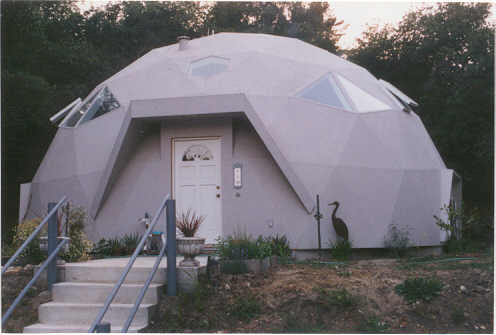 Earth Bermed Home Earth Sheltered Home Dome Home Dome
